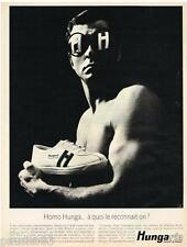 PUBLICITE ADVERTISING 105  1967  HUNGARIA  chaussures de sport
