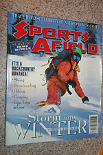 Winter 1998-99 Sports Afield Magazine: Storm in the Winter Back Country Survival