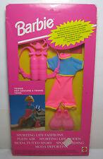 VTG 1992 BARBIE SPORTING LIFE FASHIONS TENNIS 65253 ASST. 65044 MISB MIB NRFB