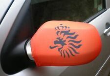 CAR WING MIRROR FLAGS, COVERS, FLAG-UPS! - HOLLAND LION