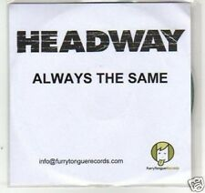 (F940) Headway, Always the Same - DJ CD