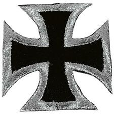 IRON CROSS CROCE DI FERRO-ricamate patch-piccolo 5,5x5,5cm