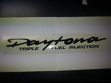 TRIUMPH DAYTONA PAIR  STICKER BIKE MOTOR BIKE DECAL MANY COLOURS