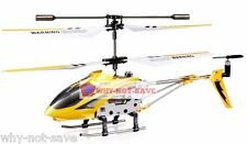 Yellow Remote Controlled toy Helicopter RC 3.5CH with Gyro RTF Syma Gyro S107G
