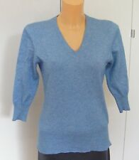 BARISAL Pullover  45% Kaschmir 55% Seide blau Größe 36