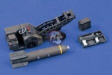 "Verlinden 1/48 US Air Force MJ-1 Bomb Loader ""Jammer"" Lift Truck w/Ordnance 1427"