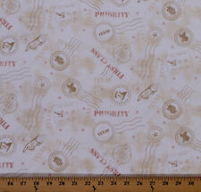 Quilt Across Texas U.S. Postage Symbols Mail Cotton Fabric Print by Yard D503.02
