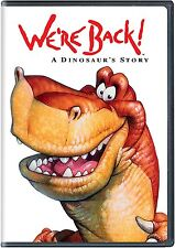 Were Back A Dinosaurs Story DVD Movie New Artwork Kids Film Free Shipping