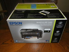 New Epson WorkForce XP-2650 All In One Printer Wireless Scanner Copy Fax