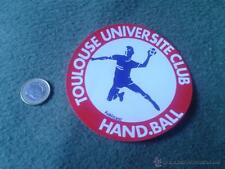 PEGATINA ADHESIVO STICKER TOULOUSE UNIVERSITE CLUB HAND.BALL HANDBALL BALONMANO