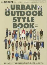 GO OUT magazine URBAN OUTDOOR STYLE BOOK 2015-2016 / from Japan