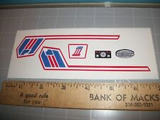 """EVEL KNIEVEL"" SUPER JET CYCLE STICKERS"
