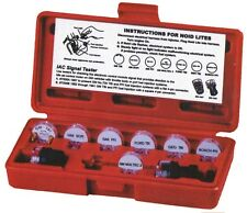 DELUXE NOID LIGHT SET - 9 piece electronic fuel injection tester - with case