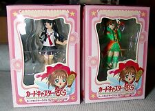 NEW 2 CARDCAPTOR SAKURA COLLECTION FIGURE'S  2005 SEGA JAPAN ,USA SELLER