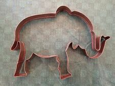 "Elephant Copper Cookie Cutter GOP Republican Vote 7""x5""x1"""