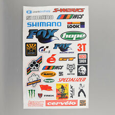 BMX Road Bike Cycling Bicycle Scrapbook Decal Cool Sheet Stickers Sticker