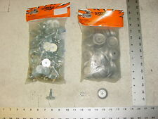 84 WOODYS Grand Master Stud 1.325 Studs Round Alum Backer Snowmobile Track