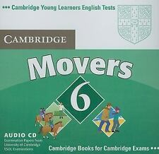 Cambridge Young Learners English Tests 6 Movers Audio CD : Examination Papers...