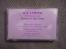 SEALED RARE PROMO Ute Lemper CASSETTE TAPE Crimes Of the Heart 3trx sampler 1990