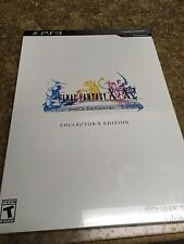 FINAL FANTASY X / X-2 HD REMASTER COLLECTOR'S EDITION PS3 Game SEALED NEW!!