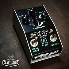 Stone Deaf Effects PDF-2 Parametric Distortion Filter Effects Pedal