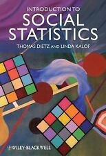 Introduction to Social Statistics The Logic of Statistical Reasoning Dietz 2009