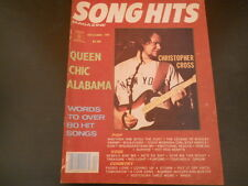 Christopher Cross, Queen, Chic, Alabama - Song Hits Magazine 1980