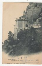 Montserrat Cueva de la Virgen 1902 Postcard  243a
