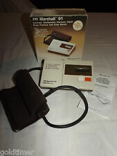 MARSHALL 91 AUTOMATIC ELECTRONIC DIGITAL BLOOD PRESSURE TEST MONITOR