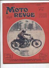Moto Revue N°632  ; 20  avril 1935 : moto de course la Rondine / 4 roues Darmont