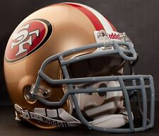 PATRICK WILLIS Edition SAN FRANCISCO 49ers Riddell AUTHENTIC Football Helmet NFL