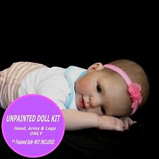Reborn Doll Kit - Vinyl blank kit to make your own toddler baby doll - Kitten