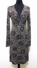 GUESS Abito Vestito Donna Viscosa Flower Woman Rayon Dress Sz.S - 42
