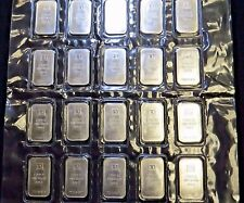 20x 1oz (20oz Total) TD Bank Canada 999 Silver Bar - SEALED SHEET OF 20 - Scarce