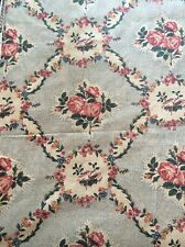 Vintage Cotton Fabric Williamsburg Mary Rose 2.6 Yds