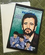 The Beatles Comic Book #4 Rings Starr Feb.1992 Personality Comics Black & White