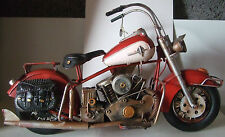 Tin Plate Model of a ClassicTransport American Motorbike /Ornament /Gift