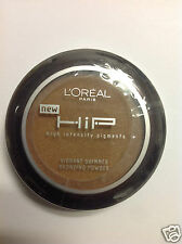 L'Oreal HiP Vibrant Shimmer Powder Bronzer THRIVING #899 NEW.
