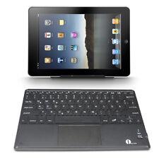 1byone Drahtlose Bluetooth QWERTZ Deutsche Tastatur und Multi Touchpad