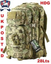 KOMBAT UK 28L MULTICAMO BTP ASSAULT MOLLE PACK RUCKSACK New British Army MTP TA