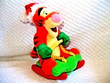 Disney's plush ROLLIE TIGGER On rolling Sled