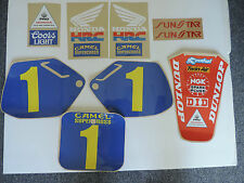 1990 HONDA CR 250 FACTORY REPLICA GRAPHIC KIT