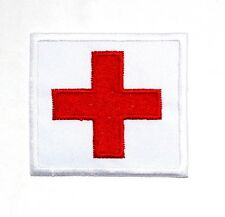 Medic Red Cross NAVY SF SEAL SWAT Nurse Doctor Tactical Military Iron on patch