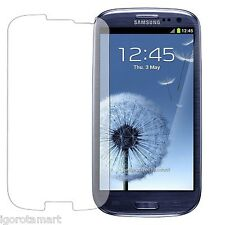 5x Clear Screen Protector Film For Samsung Galaxy S3 i9300 SIII Front Cover