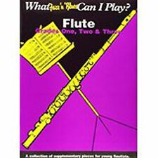 What Jazz 'n' Blues Can I Play Flute Grades 1 2 and 3 Sheet Music Book S93