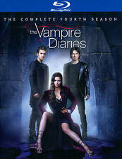 The Vampire Diaries: The Complete Fourth Season (Blu-ray Disc, 2014, 4-Disc Set)
