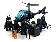 CUSTOM Minifigure 8pz ESERCITO speciale OP COMMANDO SWAT Team E ACCESSORI FIT LEGO