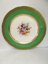 Vintage Hammersley & Co Hand Painted Cabinet Plate Signed