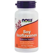 NOW Foods Soy Isoflavones 150 mg - 60 Vcaps FAST SHIPPING