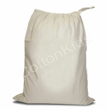LAUNDRY SACK COTTON CANVAS TOY STORAGE BAG VERY STRONG
